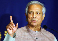 Professor Muhammad Yunus, Nobel Peace Prize 2006, to sign our preface!